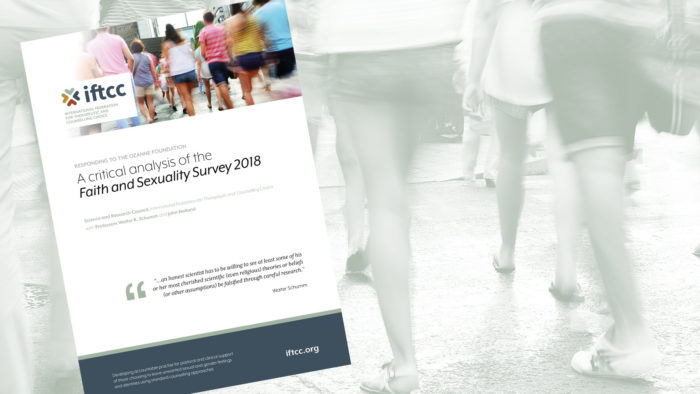 Critical analysis of the Ozanne Foundation's «Faith and Sexuality Survey 2018»
